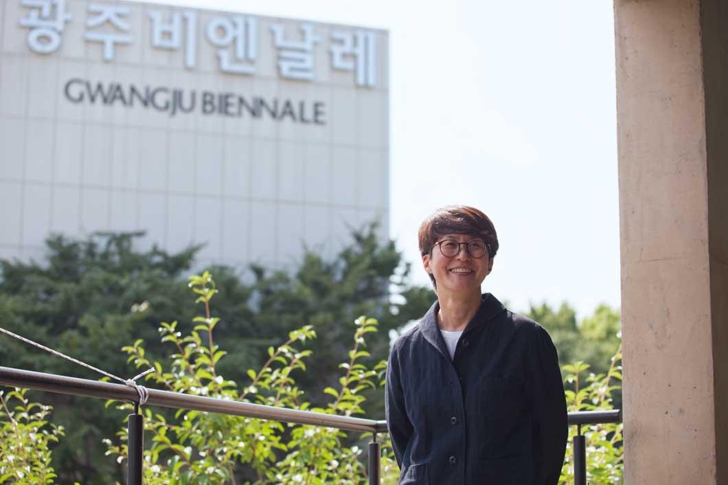 Kim Sun-Jung, the president of Gwangju Biennale Foundation. Courtesy of Gwangju Biennale Foundation.